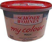 10 L Schöner Wohnen my Color, Wandfarbe, Peach (2,99EUR/L)