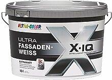 10 L Ultra Color Fassadenfarbe Silikonharz Weiß