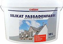 10 L Wilckens Silikat Fassadenfarbe Weiss Fassade