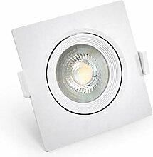 10 LED Einbauspot Einbauleuchte Einbaustrahler