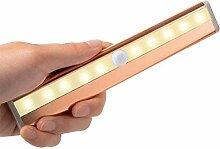 10 LED Schrankbeleuchtung Bewegungsmelder