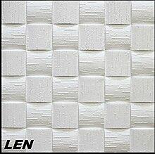 10 m2 Deckenplatten Styroporplatten Stuck Decke Dekor Platten 50x50cm, LEN