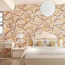 10 Meter 3D Retro Blitz Dreidimensional Vlies Fototapete Top Tapete Wandbilder Bild Tapeten Wand (orange)