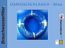 10 METER FREIE FARBWAHL Stück, Side by Side, Kühlschrankschlauch, 6 mm Wasserschlauch WEISS, GELB, BLAU, ROT - IHRE WAHL 1/4 Zoll (6mm) für Side by Side Kühlschrank, Kühlschrankschlauch, 10 m am Stück, Wasserfilter, Osmoseschlauch (Blau)