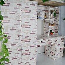 10 Meter PVC-Tapete selbstklebende Tapete