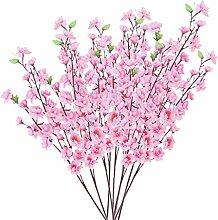 10 Paar Künstliche Pfirsichblüte Blumengesteck