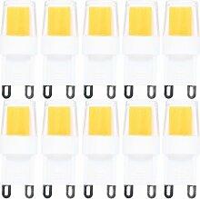 10 Pack G9 LED Lampe,2.5W G9 LED Birnen,Kein