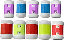 10 STK Stricknadeln Reihezähler Kunststoff Häkeln Stricken Stricknadeln Zeile Zähler Zubehör Assistent Werkzeuge Zufälligen Farbe