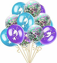 10 Stück 12 Zoll Latex Ballons Konfetti
