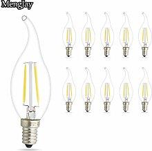 10 Stück 2W E14 LED Lampe, Ersatz für 20W