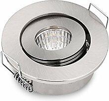 10 Stück 3 W COB kleine Einbauleuchten LED