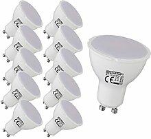 10 Stück 6 watt GU10 LED Spot Lampe Einbauleuchte