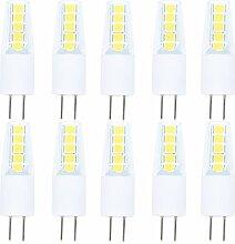 10 Stück G4 LED Lampe Birne, 2 Watt ersetzt 15W