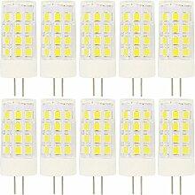 10 Stück G4 LED Stiftsockellampe 5Watt 12V AC/DC