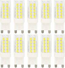 10 Stück G9 LED 5W Lampe LED Leuchtmittel mit 44
