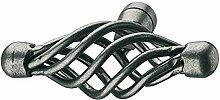 10 Stück - GedoTec® Antik Möbelknöpfe vintage