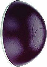 10 Stück - GedoTec® Wand-Türpuffer Türstopper zum Kleben PUFFIE Gummi-Puffer für Wandmontage | Farbe: braun | Ø 31 mm | Höhe: 12 mm | Kunststoff Wandpuffer selbstklebend | Markenqualität für Ihren Wohnbereich