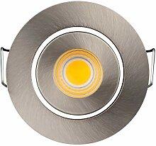 (10 Stück) Kleine COB LED 3 W Einbauleuchte