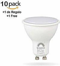 10 Stück LED-Reflektorlampe Geringer Verbrauch