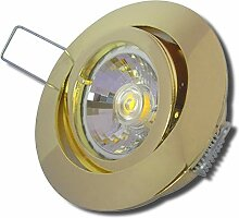 10 Stück MCOB LED Einbaustrahler Laura 230 Volt 5