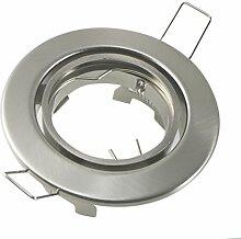 10 Stück Metall Einbaustrahler Einbauspot in