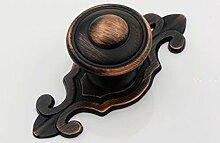 10 Stück Öl rieb Bronze Schrank Möbel zieht Möbelknopf, Möbelknauf, Möbelknöpfe, Möbelgriff, Vintage Keramik Porzellan Se