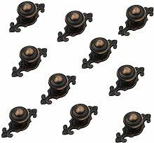 10 Stück Öl Rieb Bronze Schrank Möbel Zieht
