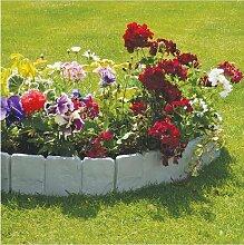 10 Stück Rasenkante Gartenzaun Zierzaun aus