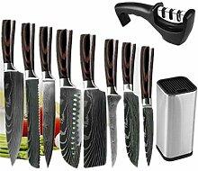 10 Stück/Set Küchenmesser Set Japanisches