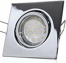 10 Stück SMD LED Einbaustrahler Luisa 12 Volt 3