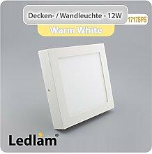 10 Stück Vorteilspack LED Deckenleuchte weiß