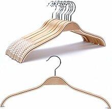 10 Stück weiblichen Kleiderbügel aus Holz, Rock