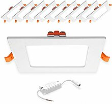 [10 Stück] Xtend 6W Ultraslim Slim LED Panel