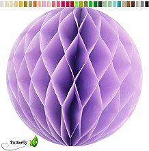 10 Wabenbälle 15cm Set ( flieder 462H ) // Waben Ball Hänge Deko Ballons Laternen Wabenball Dekoration Bälle Pompons Papier Party Hochzei