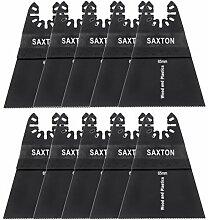 10x 65mm Saxton Klinge für Dewalt Wolf Stanley Worx Multifunktionswerkzeugen