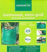 10 x Gartensack Laubsack Rasensack Gartenabfallsack Abfallsack 272L