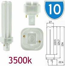 10x GE 12863Deko-18W energiesparende 2Pin