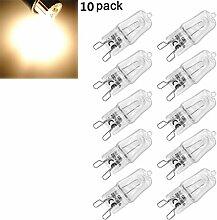 10 x Halogen Stiftsockellampe Kapsel Lampe G9 40W