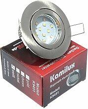 10 x LED Einbaustrahler Bajo in