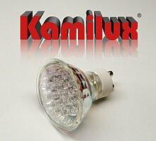 10 x LED Leuchtmittel 20er LED-Strahler 1,5W Warmweiss 230V