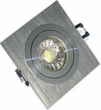 10 x Power LED Einbaustrahler/Spot Kanto 1er