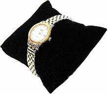 10 x Samtkissen Schmuckkissen Uhrenkissen schwarz