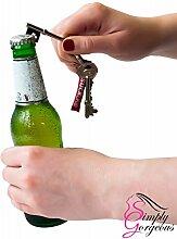 10 X Schlüssel geformt Flaschenöffner