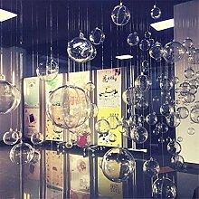 10 x Weihnachtskugeln Transparent Kunststoff