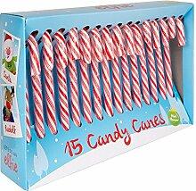 10x Zuckerstangen-Geschenk Süßigkeiten
