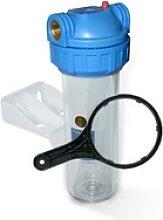 10 Zoll Wasserfiltergehäuse 3/4 3 tlg.