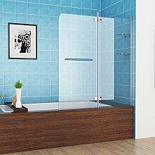 faltwand aufsatz 180 duschwand duschabtrennung - Handtuchhalter Dusche Glas