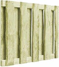 100 cm x 75 cm Gartenzaun Diego aus Holz Garten