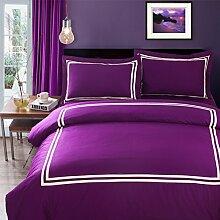 100% extra-baumwolle comforter set soft komfortable zimmer mit langer bettwäsche pure multi color-A Queen1