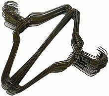 100 goldfarbene Drahtbügel, 45,7 cm,
